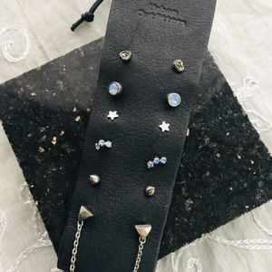 Urban Outfitters Galaxy Stud Earring Set